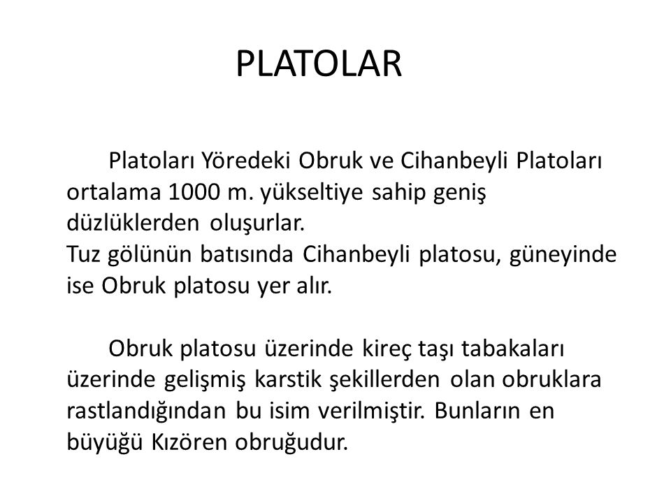 PLATOLAR