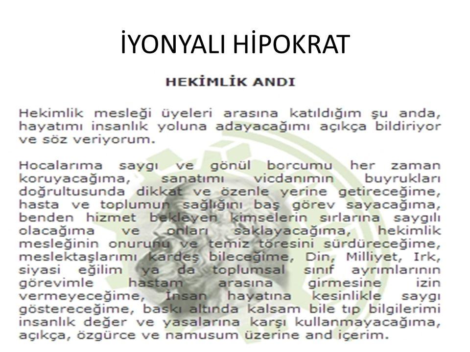 İYONYALI HİPOKRAT