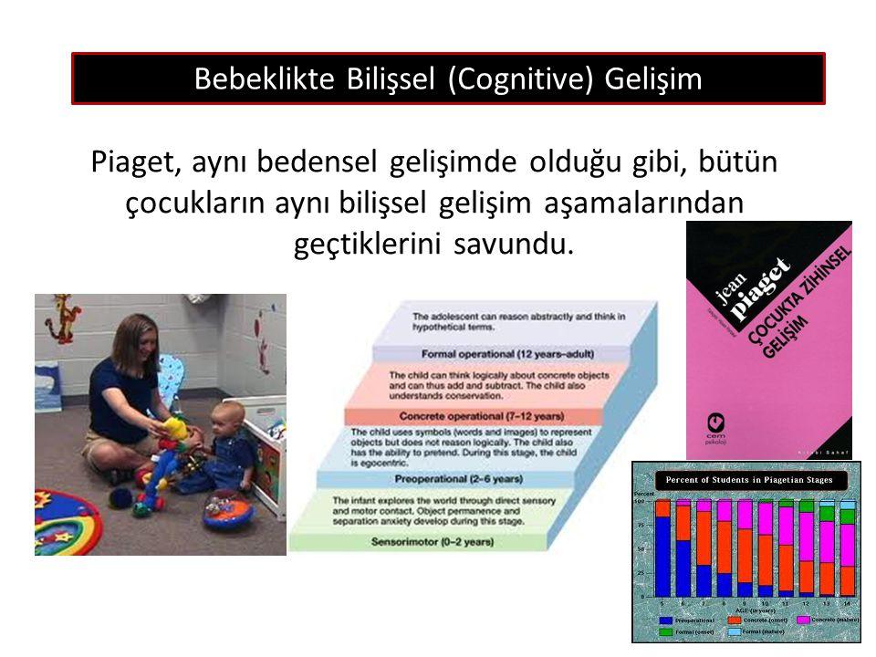 Bebeklikte Bilişsel (Cognitive) Gelişim