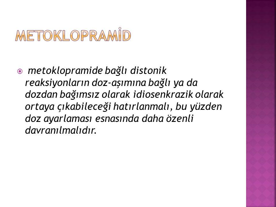 METOKLOPRAMİD