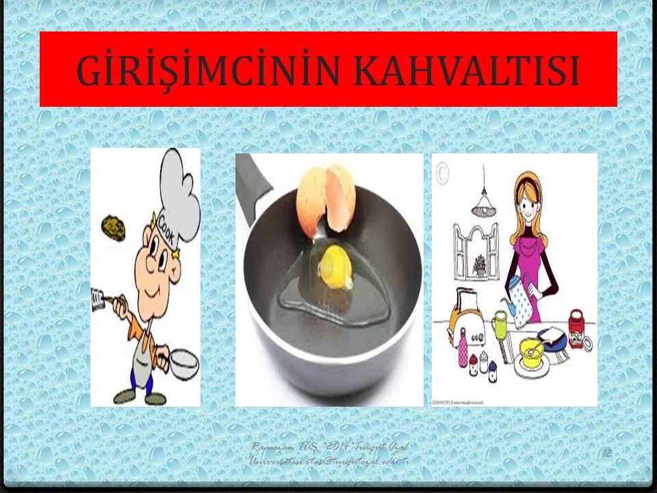 GİRİŞİMCİNİN KAHVALTISI