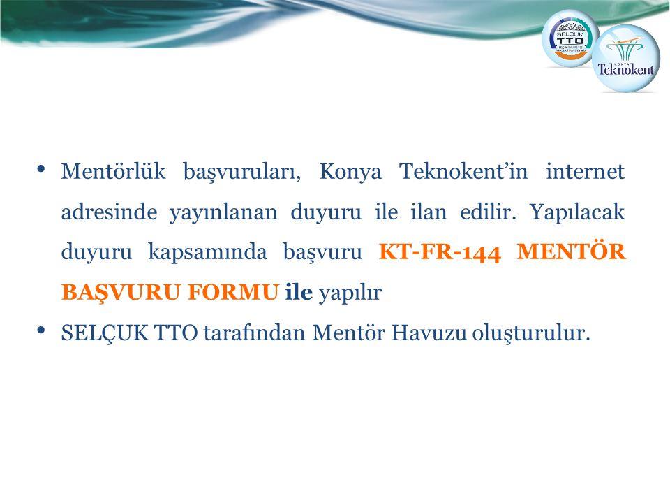 SELÇUK TTO tarafından Mentör Havuzu oluşturulur.