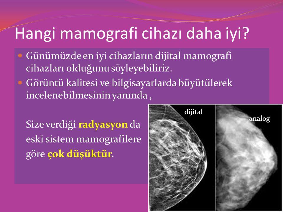 Hangi mamografi cihazı daha iyi