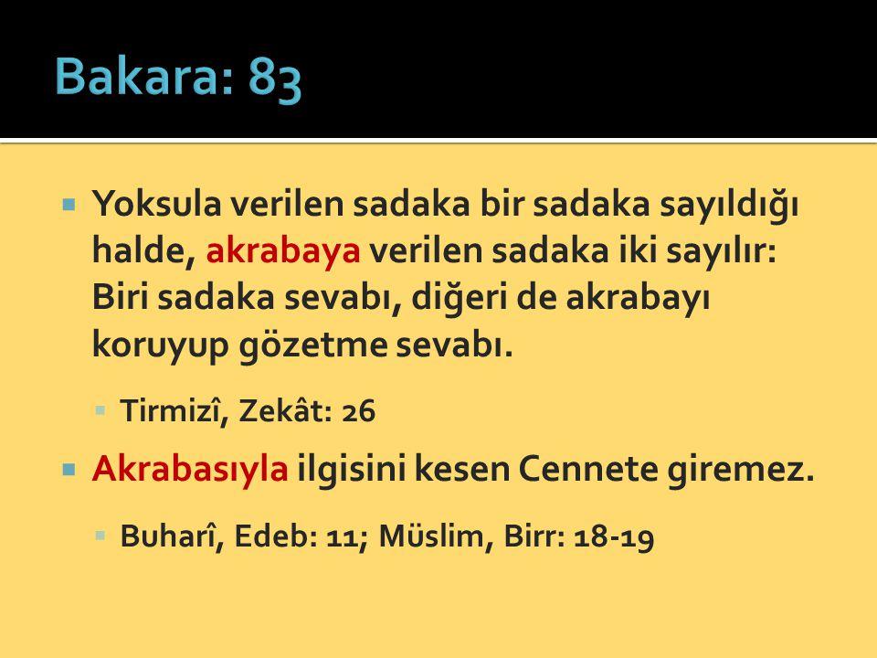 Bakara: 83