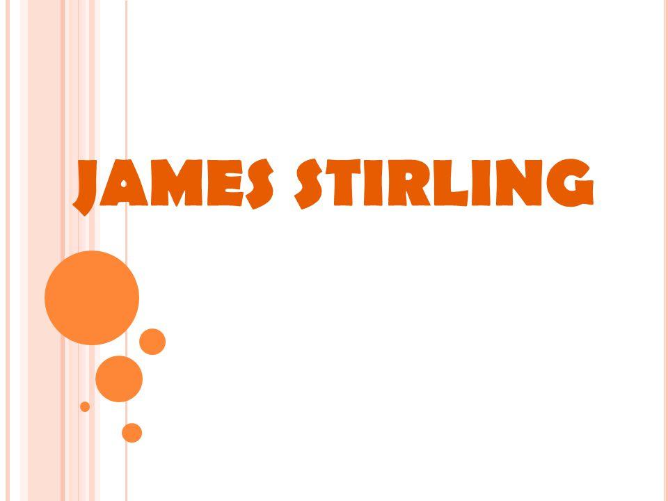 JAMES STIRLING