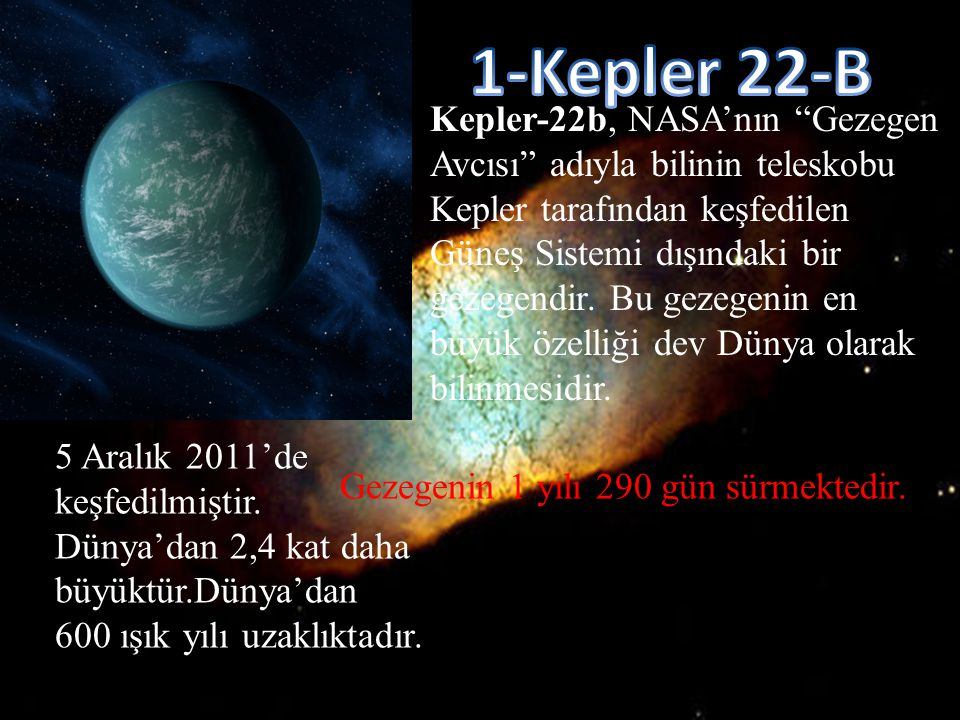 1-Kepler 22-B