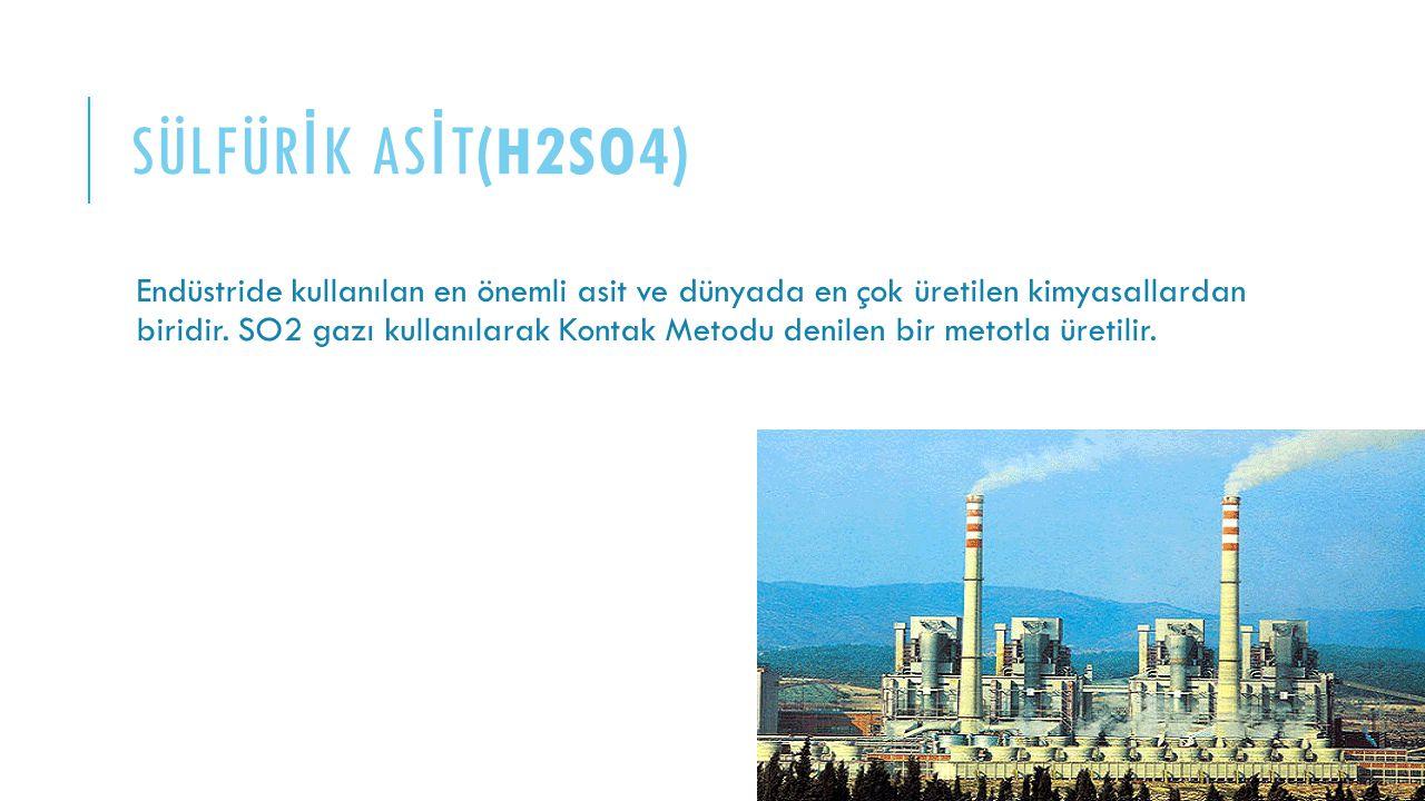 SÜLFÜRİK ASİT(H2SO4)