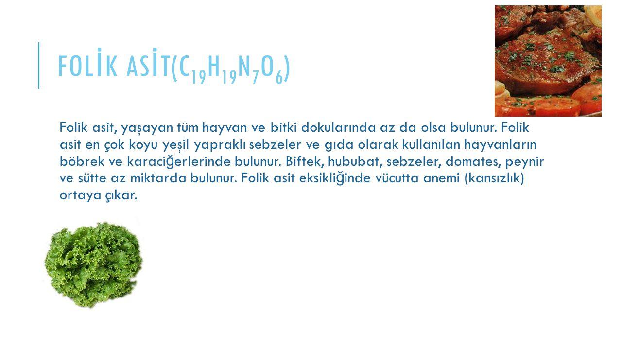 FOLİK ASİT(C19H19N7O6)