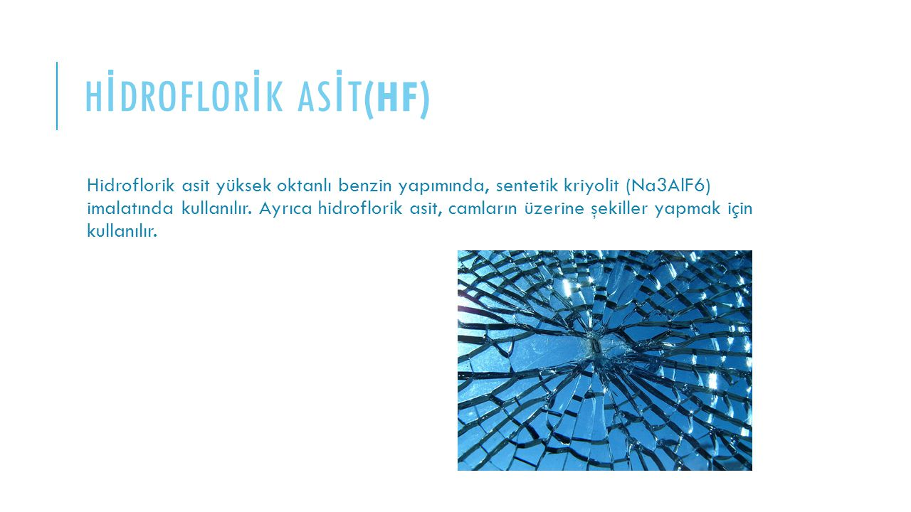 HİDROFLORİK ASİT(HF)