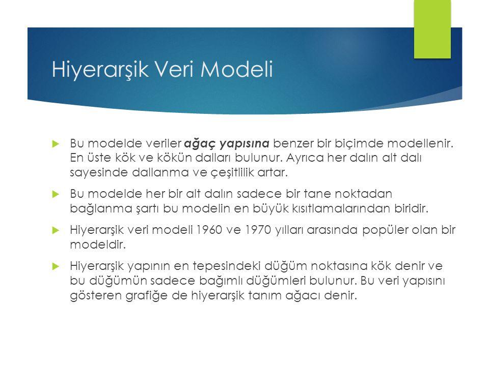 Hiyerarşik Veri Modeli
