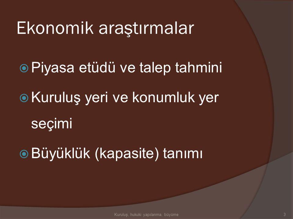 Ekonomik araştırmalar