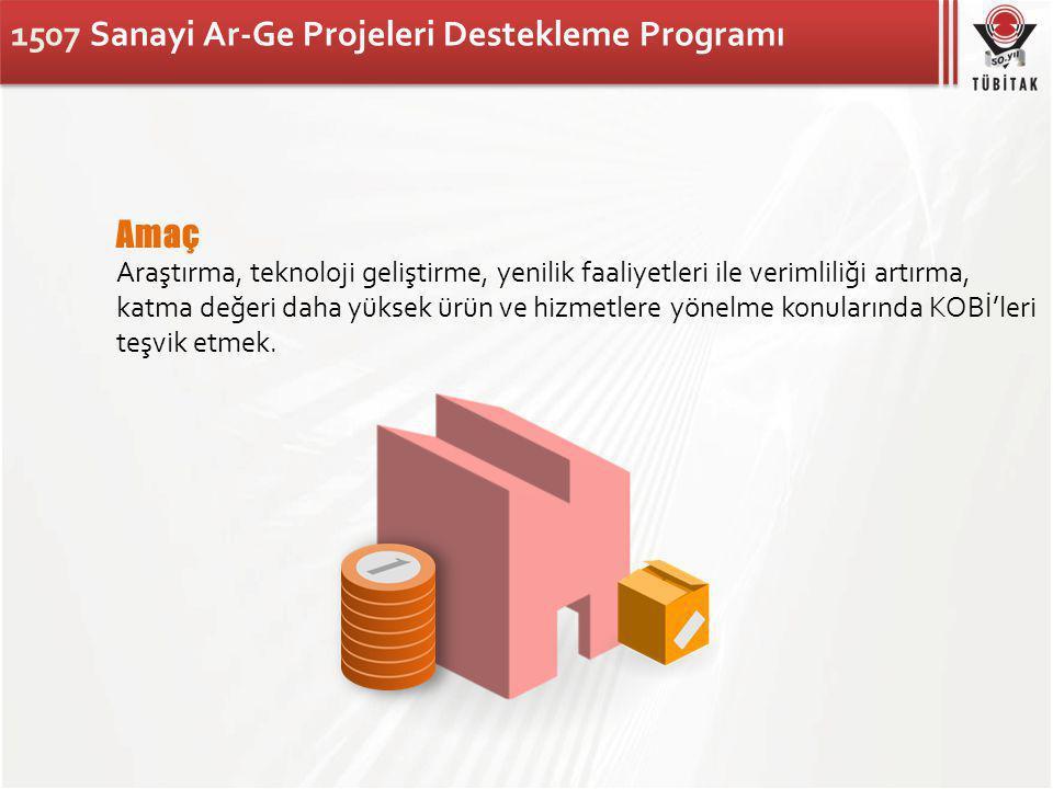 1507 Sanayi Ar-Ge Projeleri Destekleme Programı