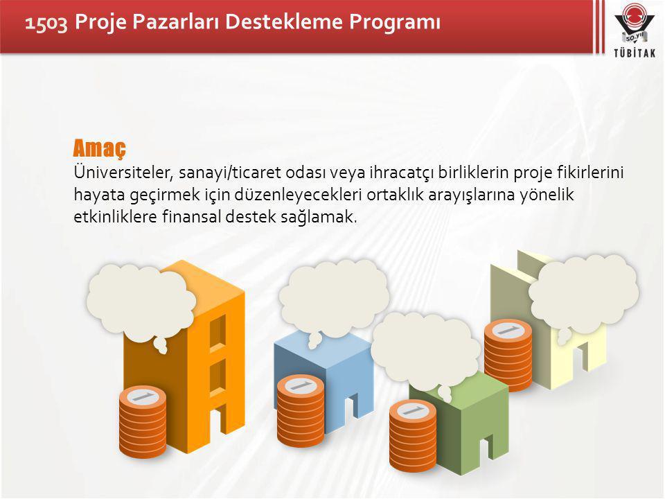 1503 Proje Pazarları Destekleme Programı