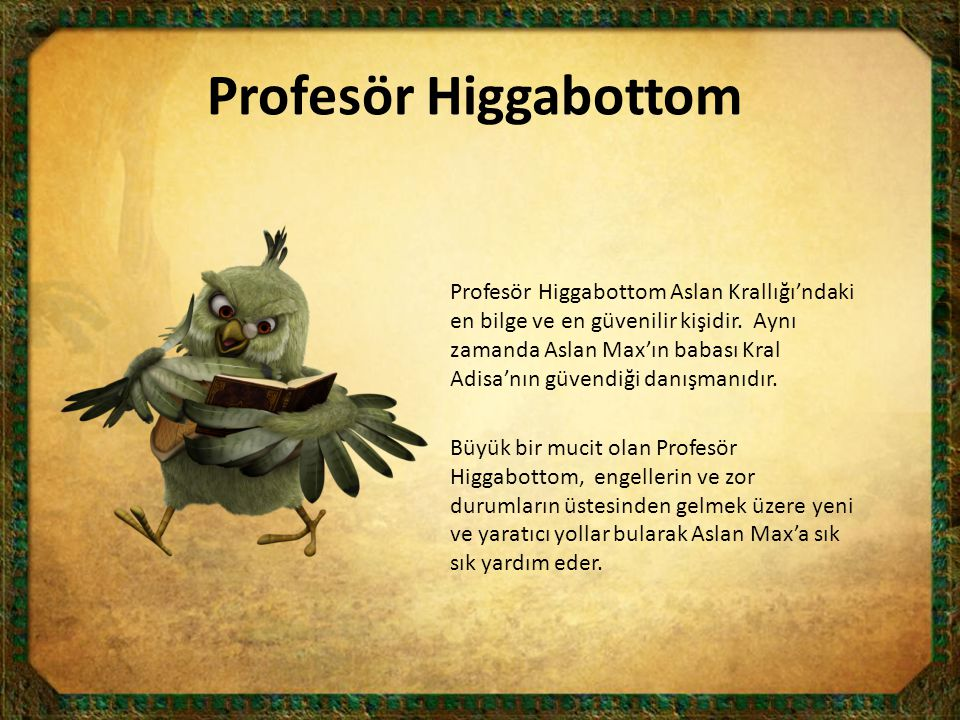 Profesör Higgabottom