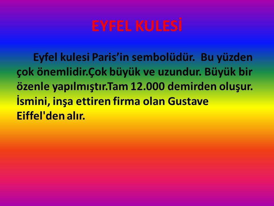 EYFEL KULESİ