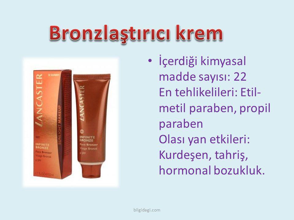 Bronzlaştırıcı krem