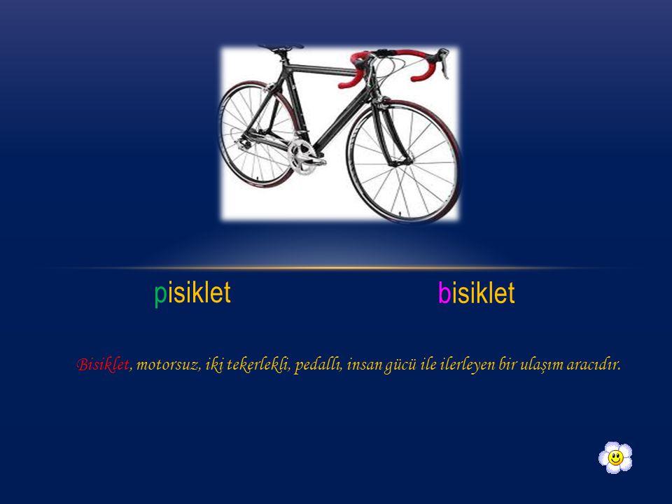 pisiklet bisiklet.