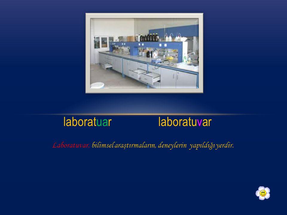 laboratuar laboratuvar