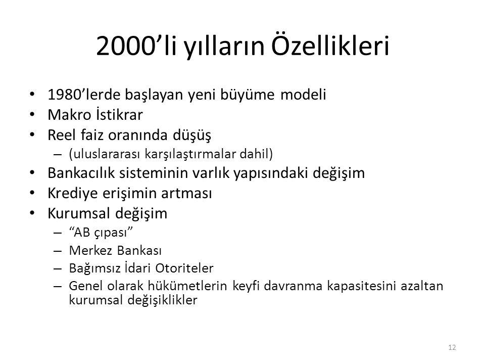 2000'li yılların Özellikleri