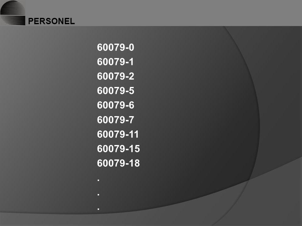 PERSONEL 60079-0 60079-1 60079-2 60079-5 60079-6 60079-7 60079-11 60079-15 60079-18 .