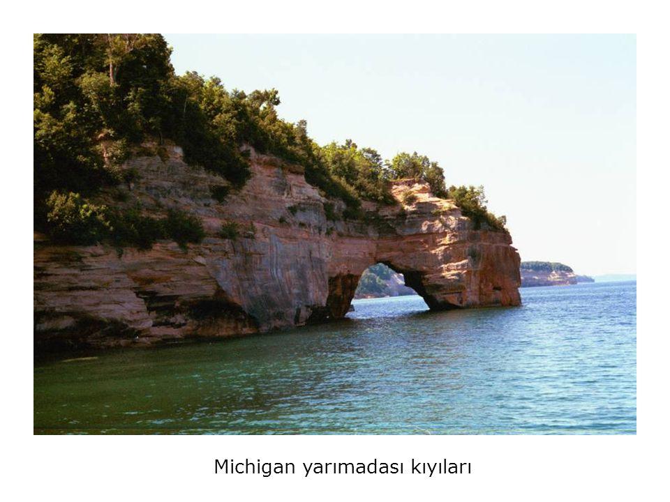Michigan yarımadası kıyıları