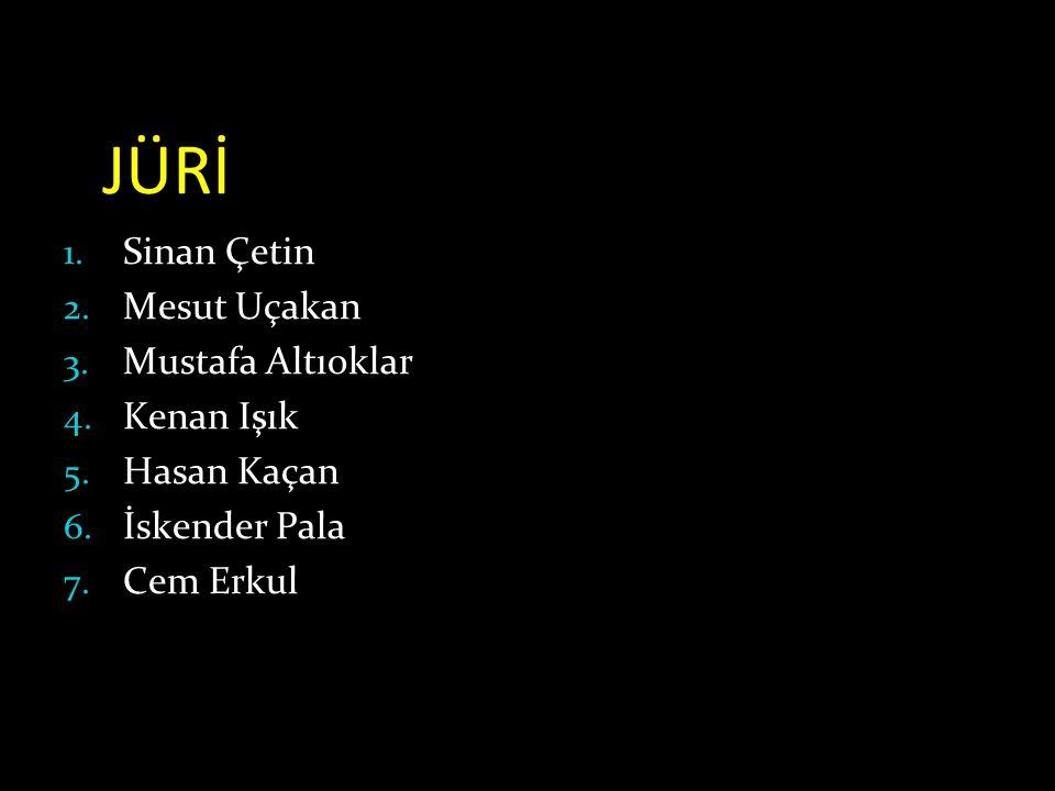 JÜRİ Sinan Çetin Mesut Uçakan Mustafa Altıoklar Kenan Işık Hasan Kaçan