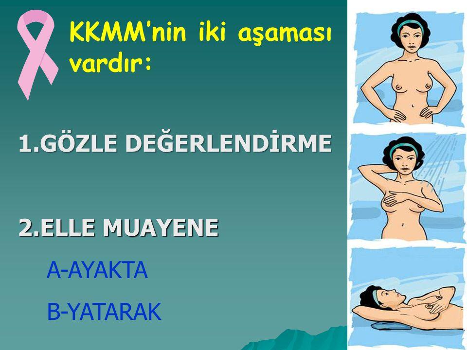 KKMM'nin iki aşaması vardır:
