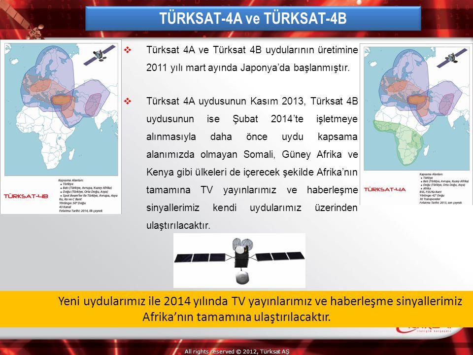 TÜRKSAT-4A ve TÜRKSAT-4B