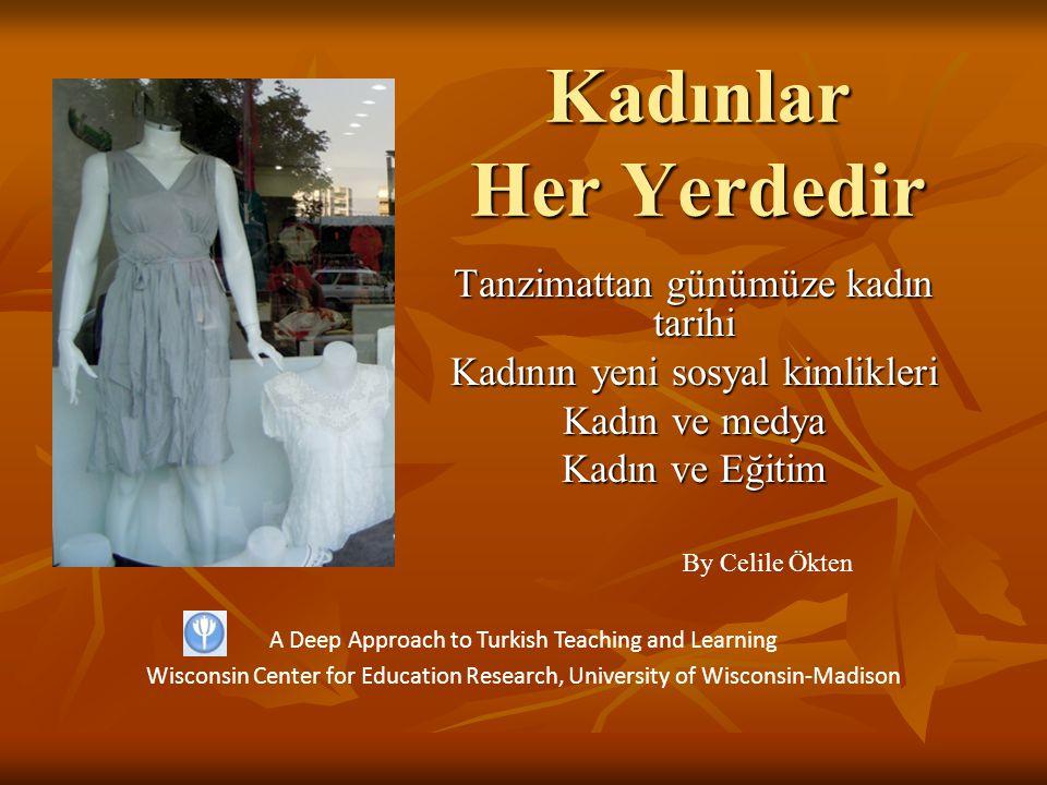 Kadınlar Her Yerdedir Tanzimattan günümüze kadın tarihi