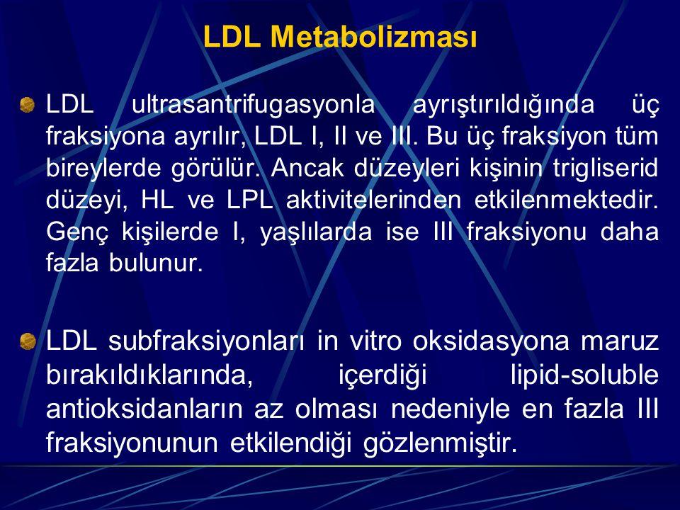 LDL Metabolizması