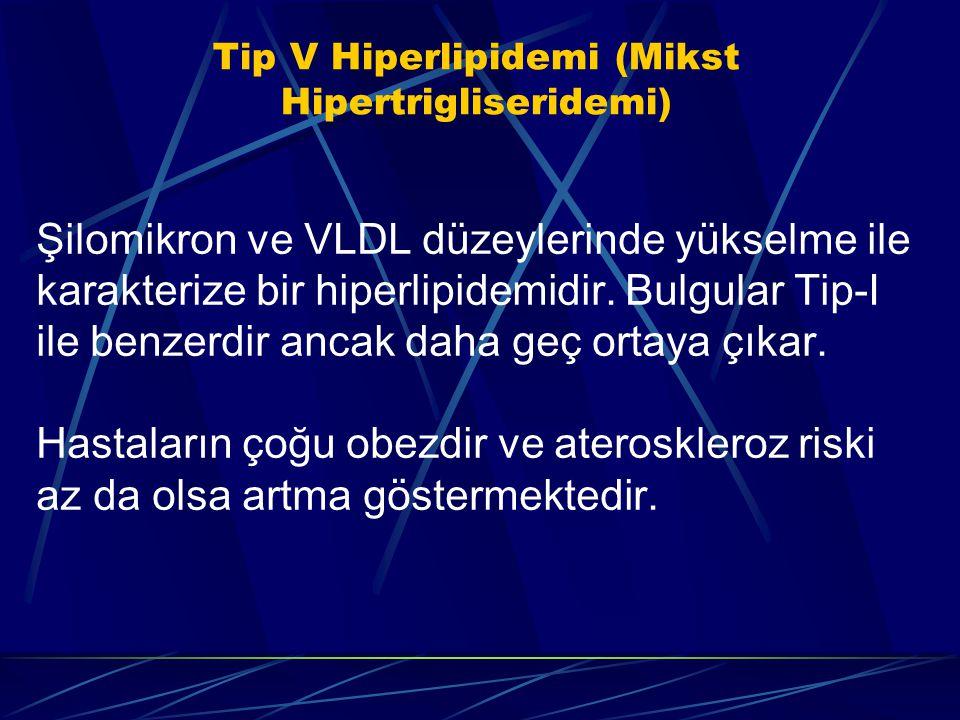 Tip V Hiperlipidemi (Mikst Hipertrigliseridemi)