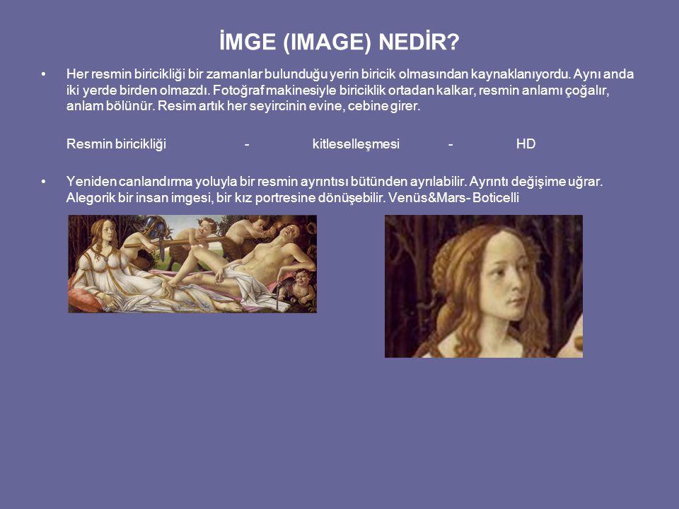 İMGE (IMAGE) NEDİR