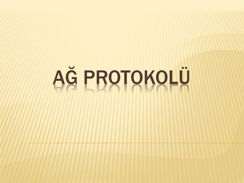 AĞ PROTOKOLÜ