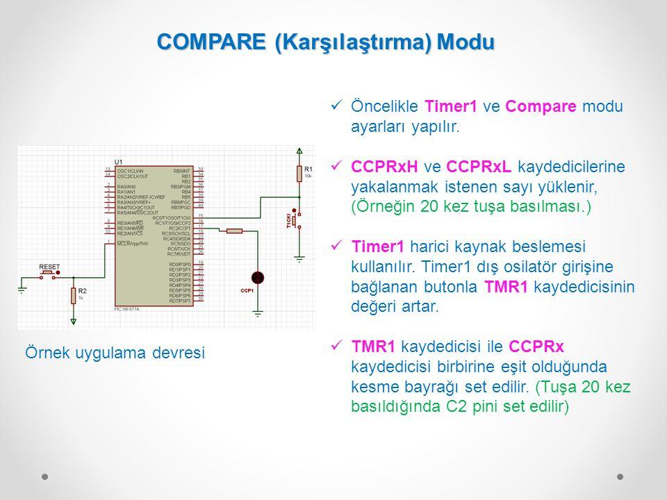 COMPARE (Karşılaştırma) Modu