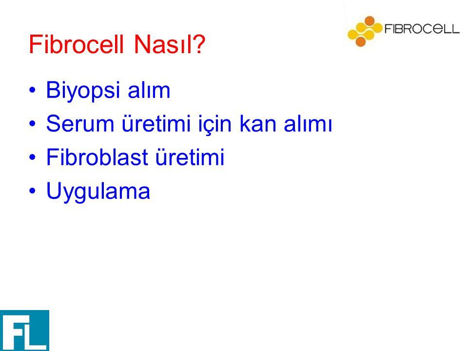 Fibrocell Nasıl Biyopsi alım Serum üretimi için kan alımı