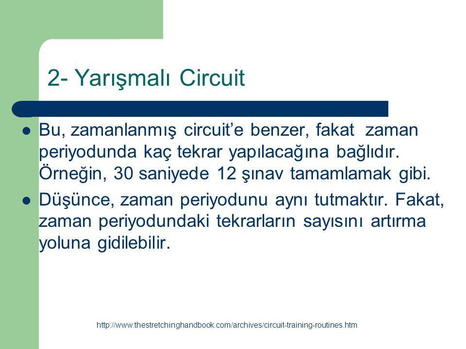 2- Yarışmalı Circuit