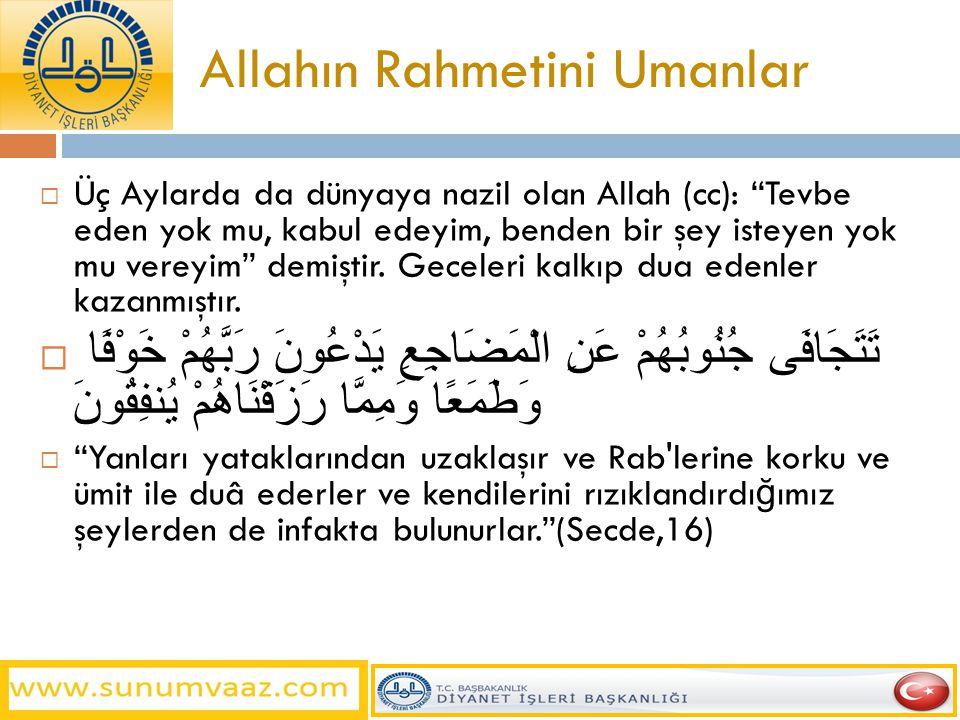 Allahın Rahmetini Umanlar
