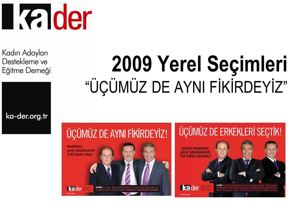 2009 Yerel Seçimleri ÜÇÜMÜZ DE AYNI FİKİRDEYİZ