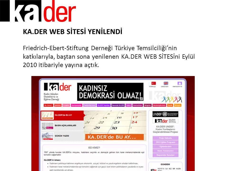 KA.DER WEB SİTESİ YENİLENDİ