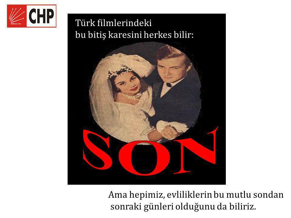 SON Türk filmlerindeki bu bitiş karesini herkes bilir: