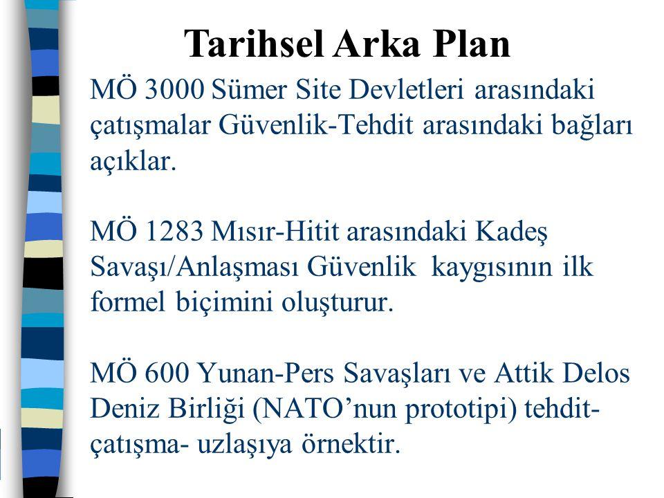 Tarihsel Arka Plan
