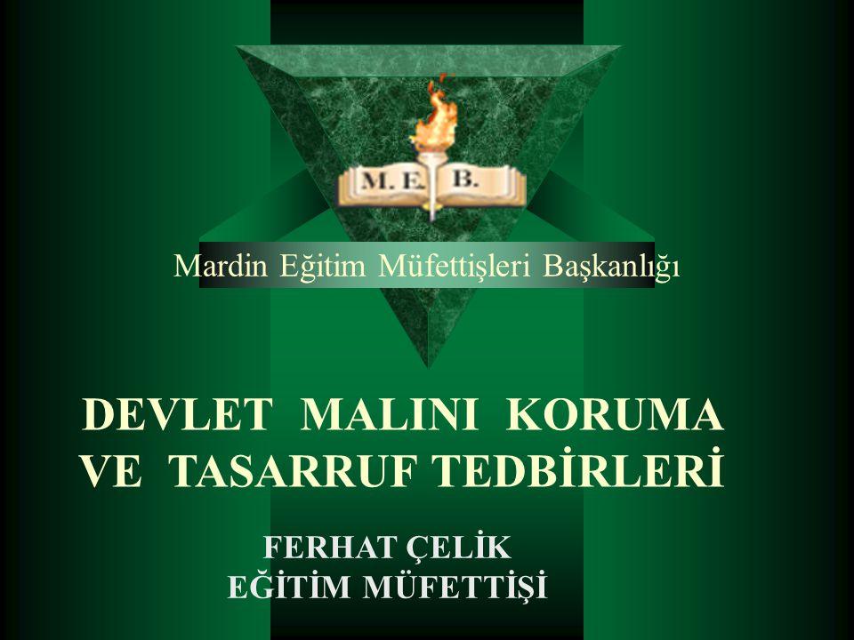 Mardin Eğitim Müfettişleri Başkanlığı