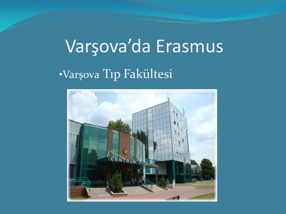 Varşova'da Erasmus Varşova Tıp Fakültesi