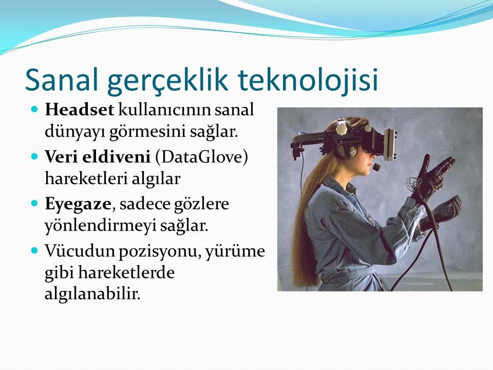 Sanal gerçeklik teknolojisi