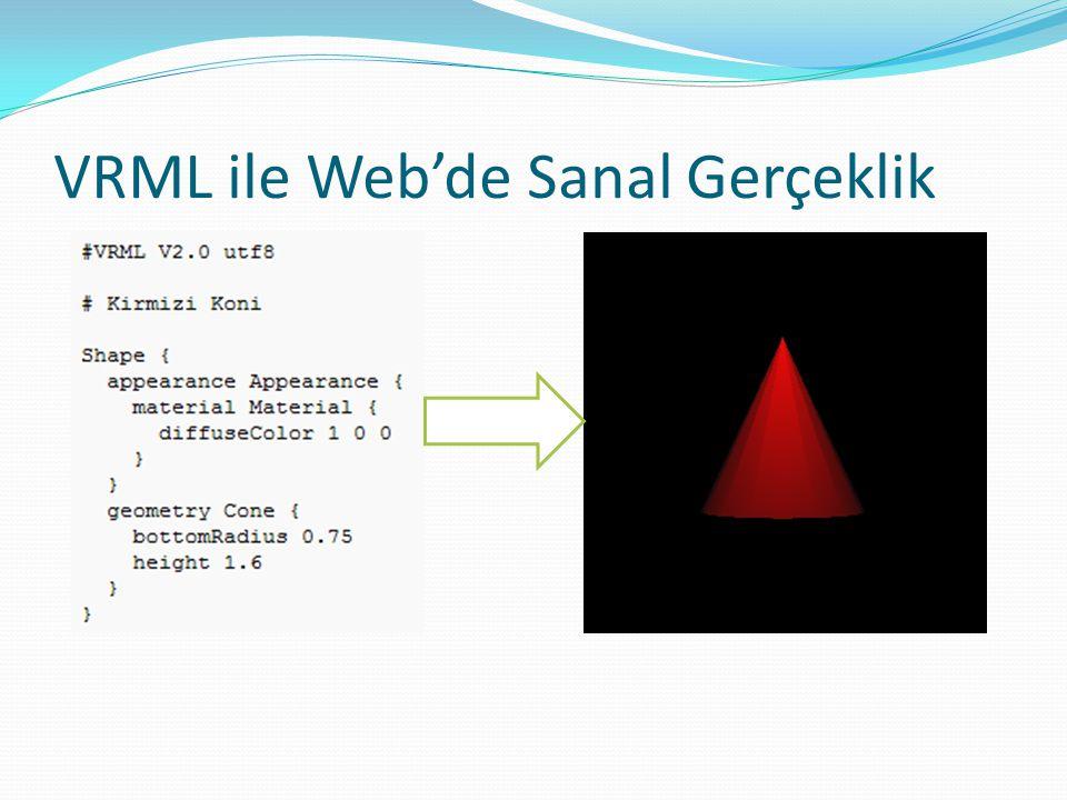 VRML ile Web'de Sanal Gerçeklik