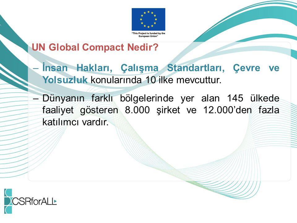 UN Global Compact Nedir