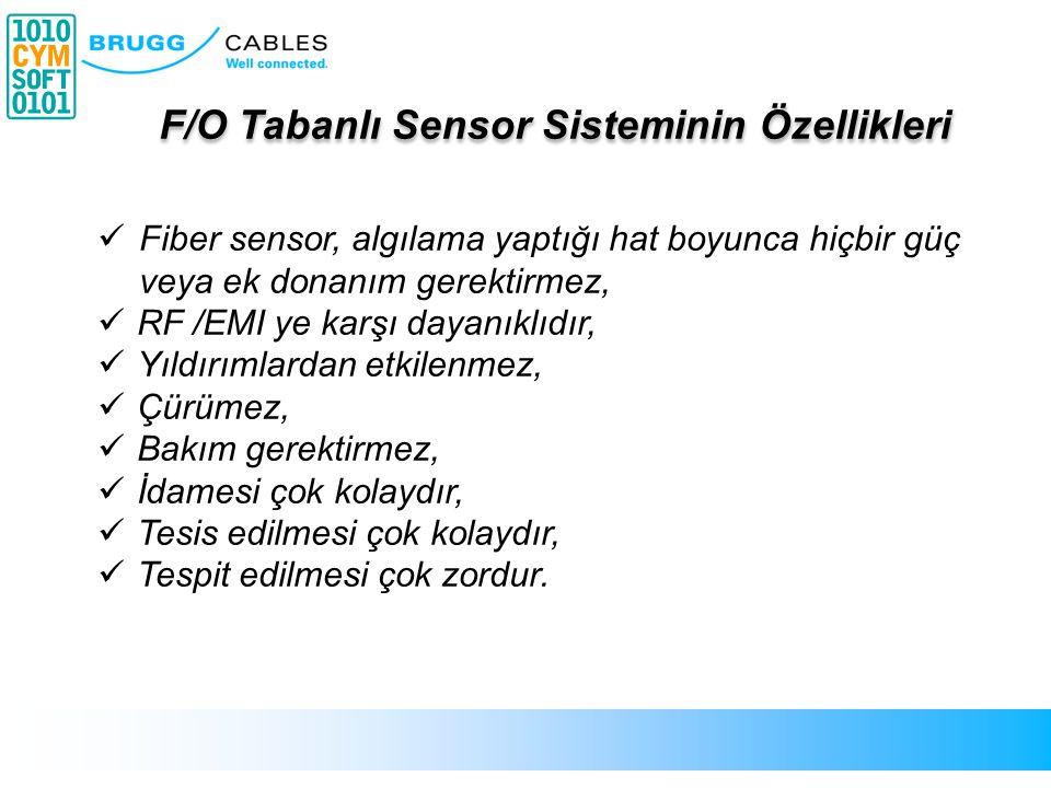 F/O Tabanlı Sensor Sisteminin Özellikleri