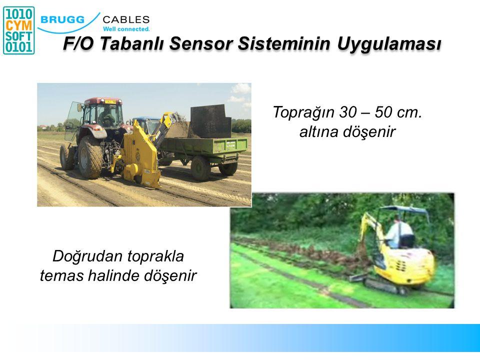 F/O Tabanlı Sensor Sisteminin Uygulaması