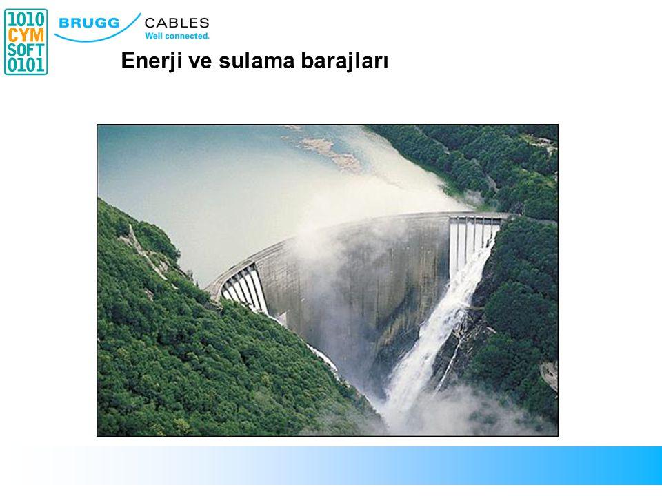 Enerji ve sulama barajları