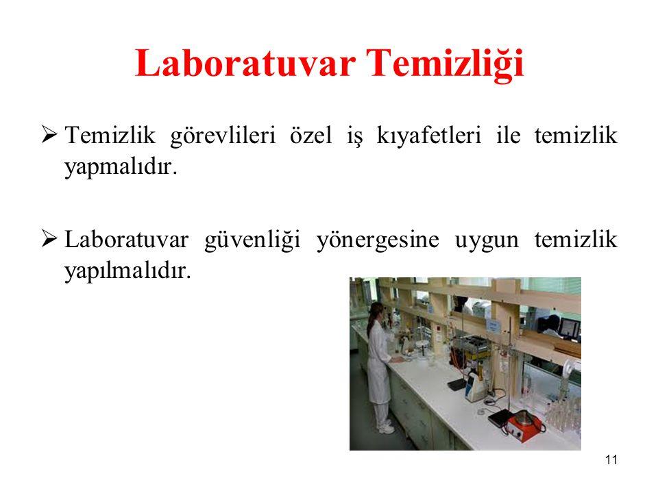 Laboratuvar Temizliği